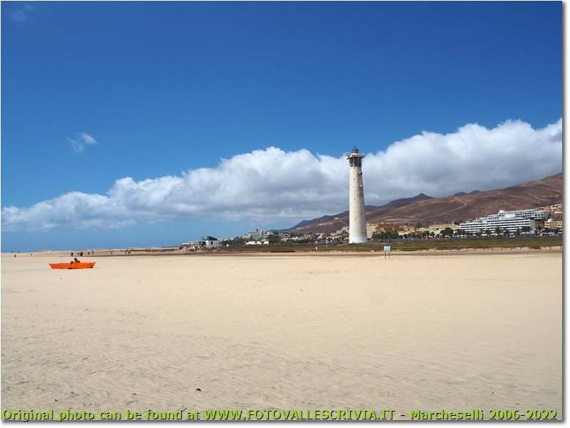 Jandia beach and lighthouse