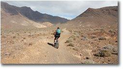 Fotografie Altro - Panorami - In bici verso la spiaggia di Cofete