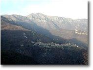 Fotografie Altro - Panorami - M. Armetta and Village of Alto (Cuneo)