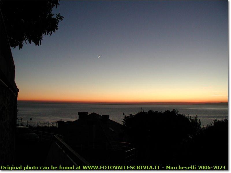 Fotografie Altro - Panorami - Tramonto a Recco (Genova)