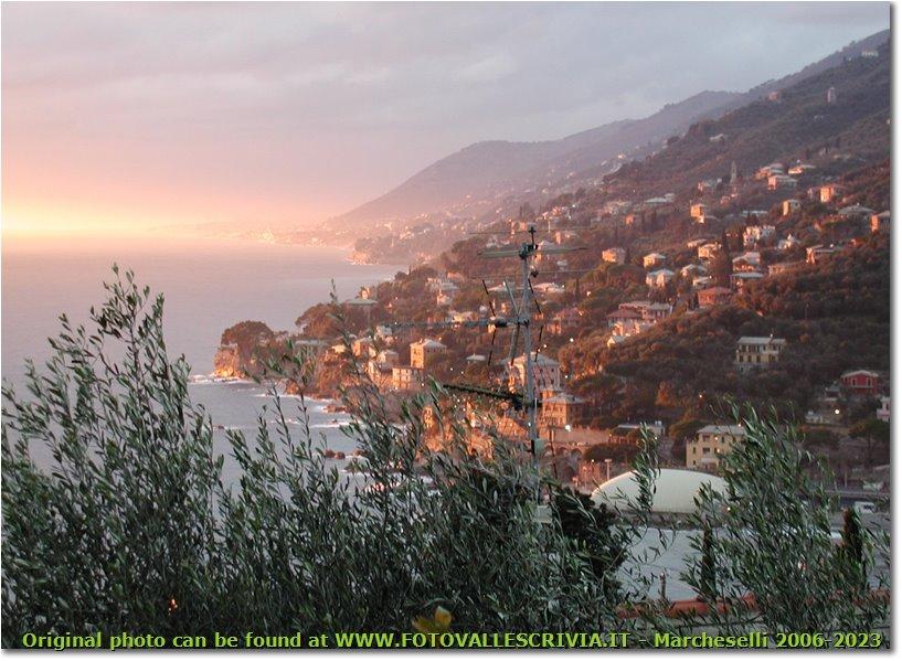 Foto Altro - Panorami - Sunset in Recco (Genoa)