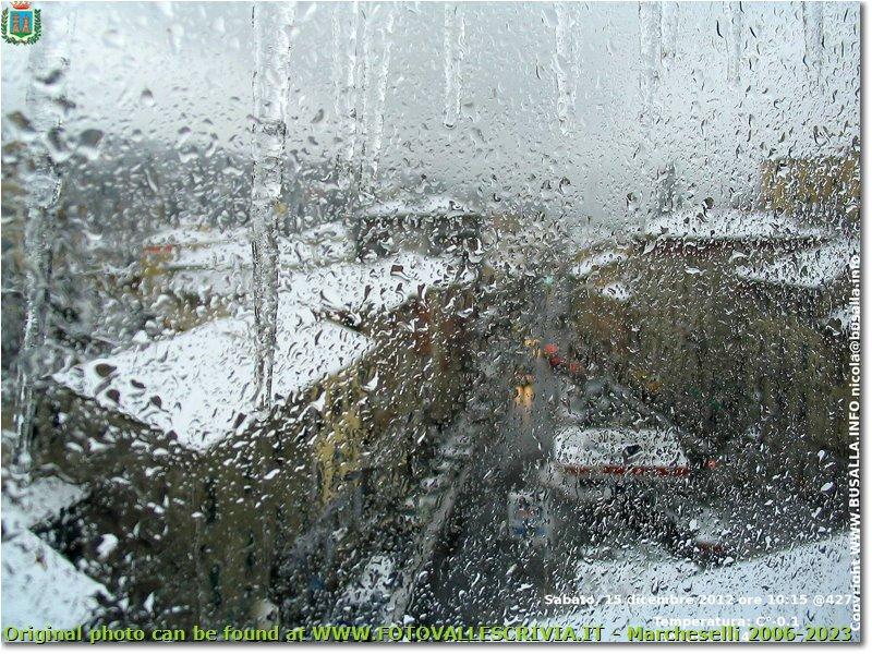 Fotografie Busalla&Ronco Scrivia - Altro - Ghiaccio sulla webcam di meteo busalla