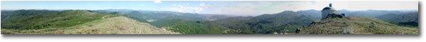 Fotografie Busalla&Ronco Scrivia - Panorami - 360 degrees panorama from Alpe di Porale