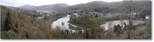 Foto Casella - Panorami - Scrivia River crossing Stabbio hemlet