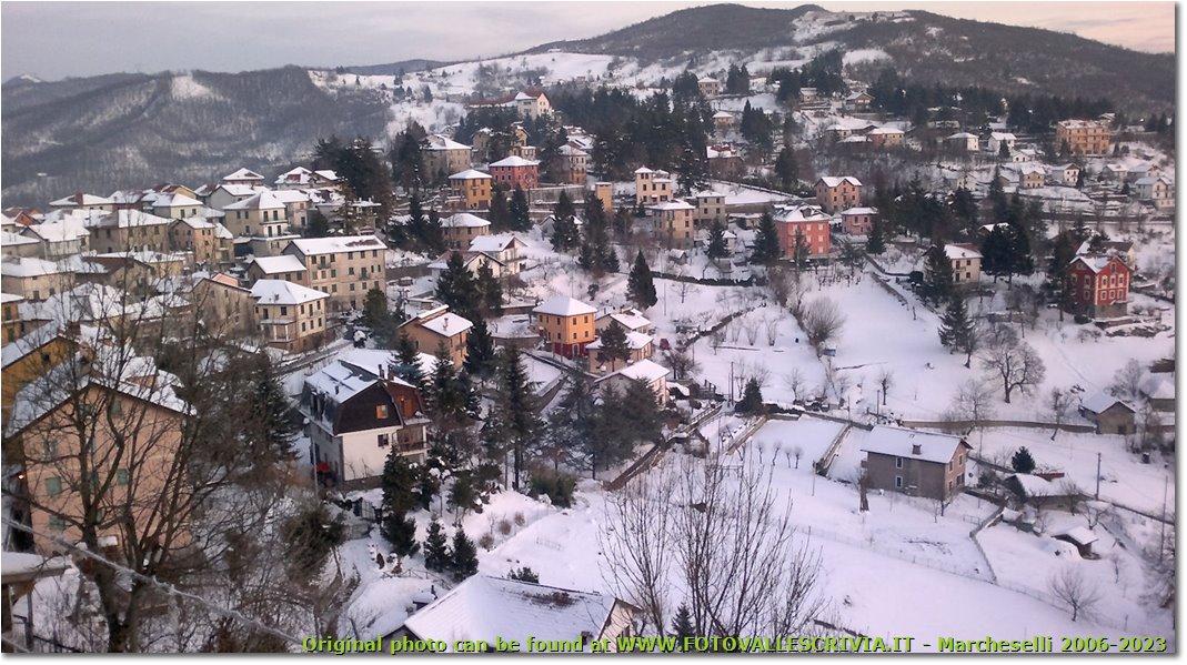 Fotografie Crocefieschi&Vobbia - Paesi - Crocefieschi d'inverno