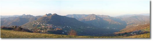 Fotografie Crocefieschi&Vobbia - Panorami - Crocefieschi: evening light in late autumn