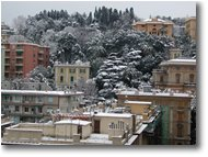 Fotografie Genova - Paesi - Upper bypass under the snow