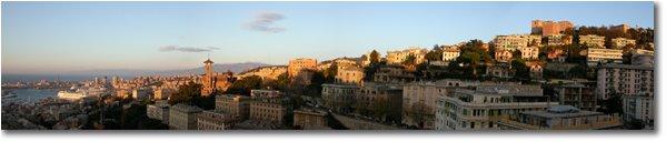 Fotografie Genova - Paesi - The harbor and the upper bypass