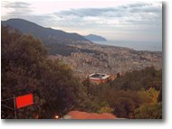 Fotografie Genova - Paesi - Live Webcam from Righi over the Stadium and Downtown Genoa