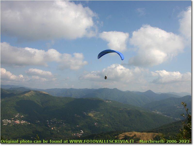 Fotografie Savignone - Altro - Flying paragliding