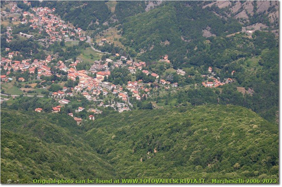 Foto Savignone - Paesi - Il paese di Savignone, tra boschi e conglomerato