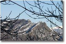 Foto Savignone - Panorami - Monte Reo Passo con neve: Biurca e Carrega du Diaou