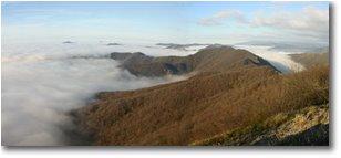 Foto Savignone - Panorami - Panorama with fog from M. Maggio