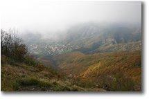 Fotografie Savignone - Panorami - Savignone from M. Maggio, fall 2005
