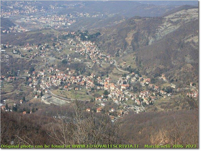 Foto Savignone - Panorami - Savignone veduta aerea