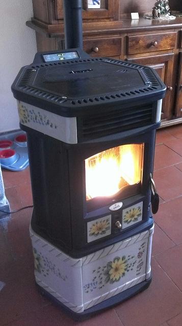 Reset parametri ut04 energy fire canalizable with reset for Parametri stufa pellet ravelli